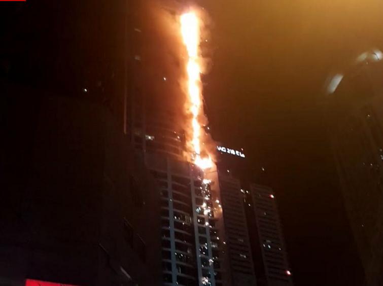 아랍에미리트연합 토치타워 화재, 대형건물 화재시 시민행동요령